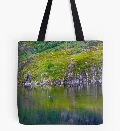 7 ★★★★★. My features Art that I LOVE!! Meravilioso Belvedere .  Å . Lofoten .Norway. july 2012. by Andy Brown Sugar. Featured Work !!! Islands , Islands , Islands . Tote Bag