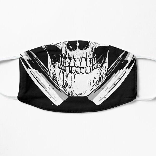 Tete de mort couteau Masque sans plis