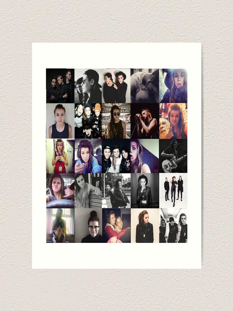 PVRIS Lynn Gunn Collage 2 iphone case