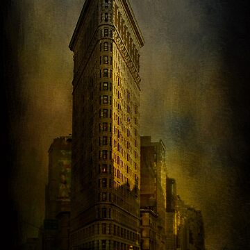 Flat Iron Building from My Perspective by ImagesFX