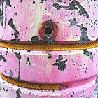 pink post by Bruce Miller