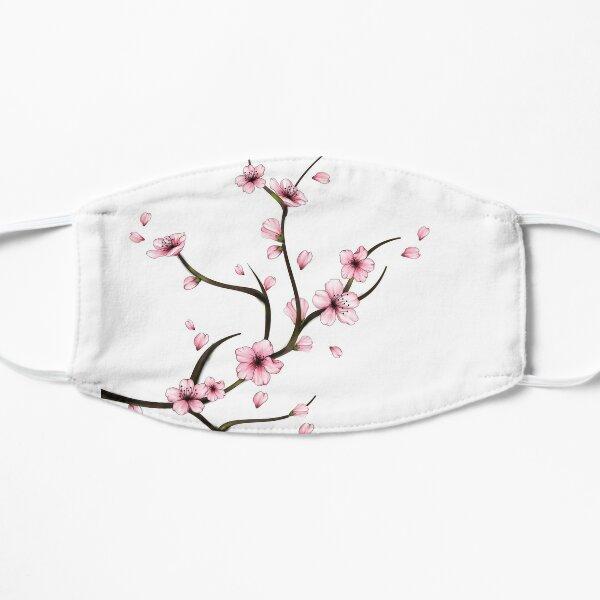 fleur de cerisier Masque sans plis