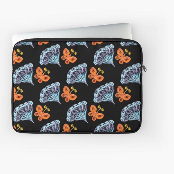 Fan & Butterfly Laptop Sleeve