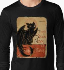 Le Dragon Noir Long Sleeve T-Shirt