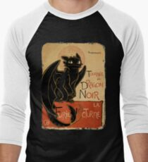 Le Dragon Noir Men's Baseball ¾ T-Shirt