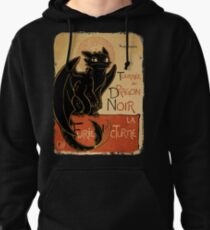 Le Dragon Noir Pullover Hoodie