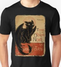 Le Dragon Noir Unisex T-Shirt
