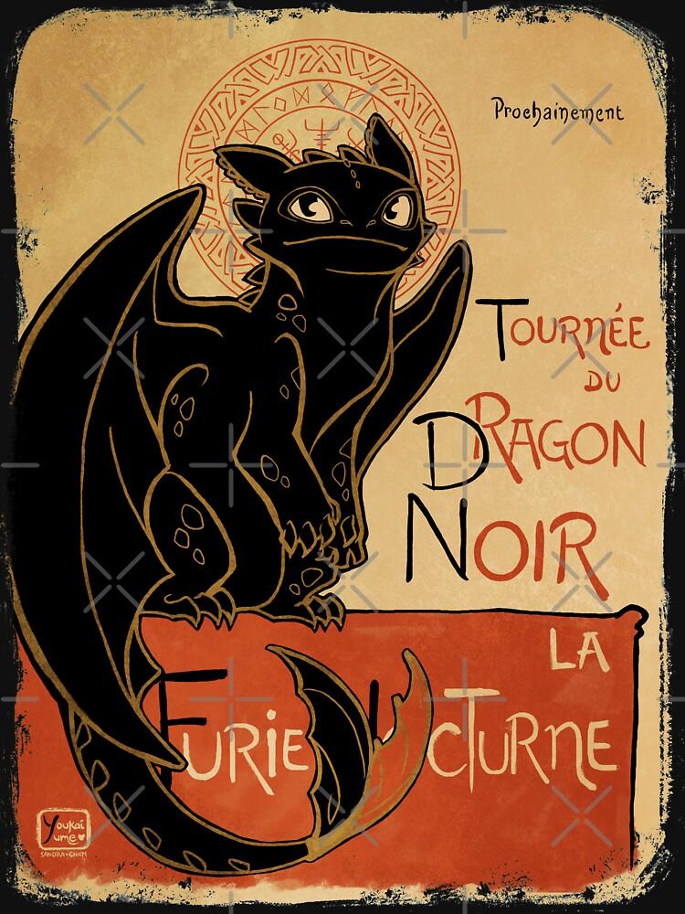 Le Dragon Noir | Unisex T-Shirt