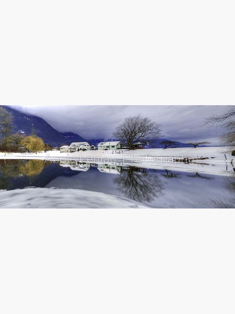 Percy Farm in Winter by ajlphotography