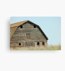 Desolate Barn Canvas Print