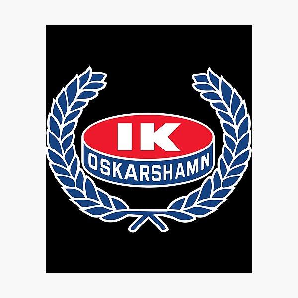 IK Oskarshamn Ice Hockey Photographic Print
