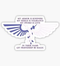 Let Friendship Be Magic Sticker