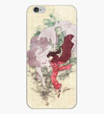 Wild Dogs and Red Capes iPhone Case