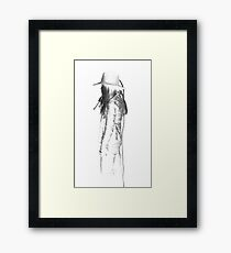 Low key inverted Framed Print