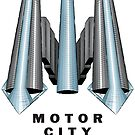 Detroit Motor City Renaissance by Elena Maria