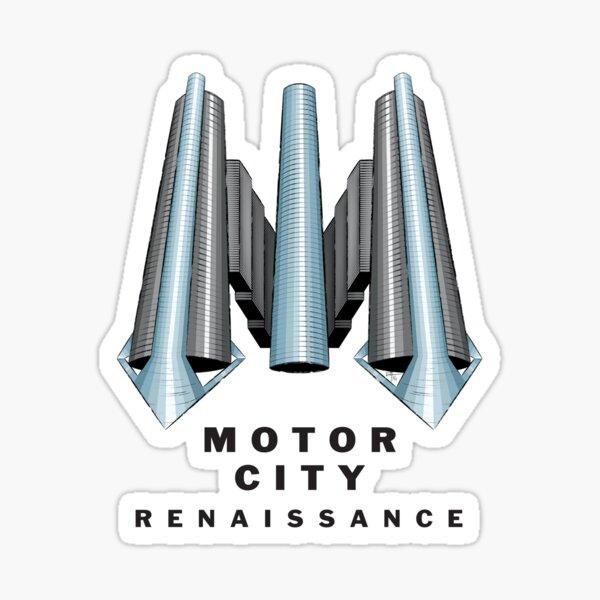 Detroit Motor City Renaissance Sticker