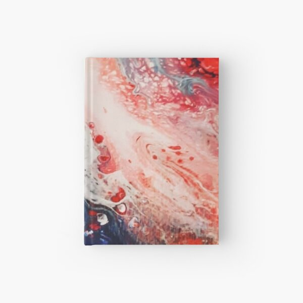 Waves of color  Hardcover Journal