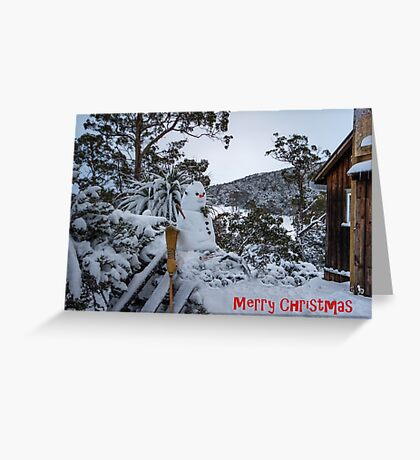 Frosty ..... Cradle Mountain Tasmania Greeting Card