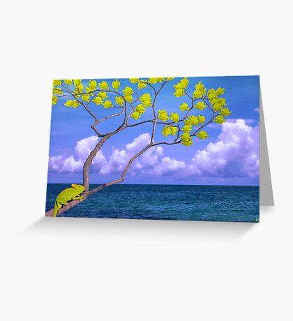Yellow Fish Greeting Card