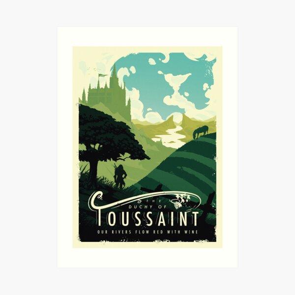 Visit The Continent IV Art Print