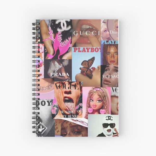 vsco collage boujee Spiral Notebook