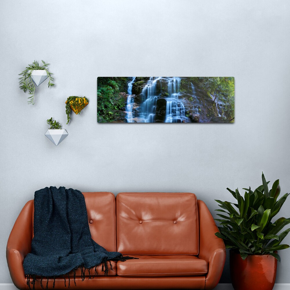 Sylvia Falls, Blue Mountains, New South Wales, Australia Metal Print