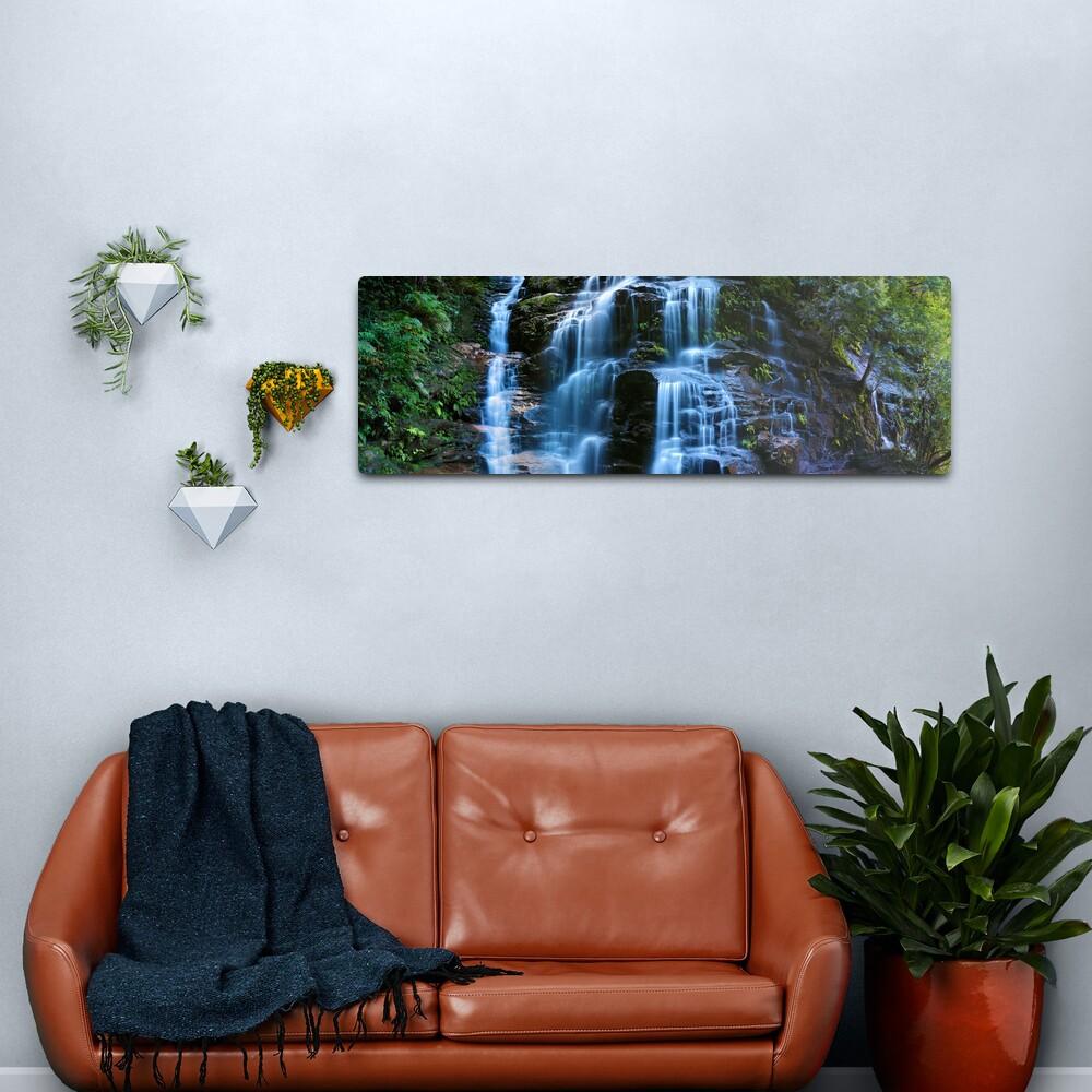 Sylvia Falls, Blue Mountains, New South Wales, Australia Metal Print