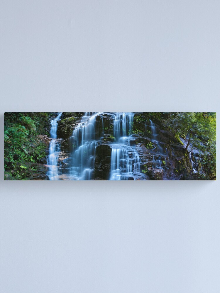 Alternate view of Sylvia Falls, Blue Mountains, New South Wales, Australia Canvas Print