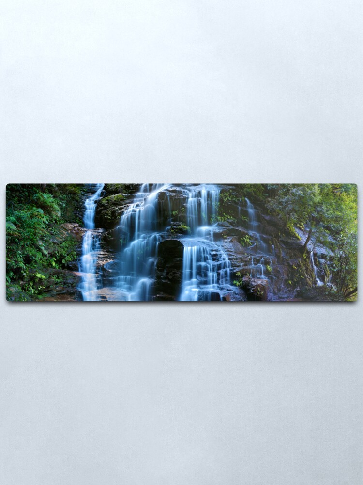 Alternate view of Sylvia Falls, Blue Mountains, New South Wales, Australia Metal Print