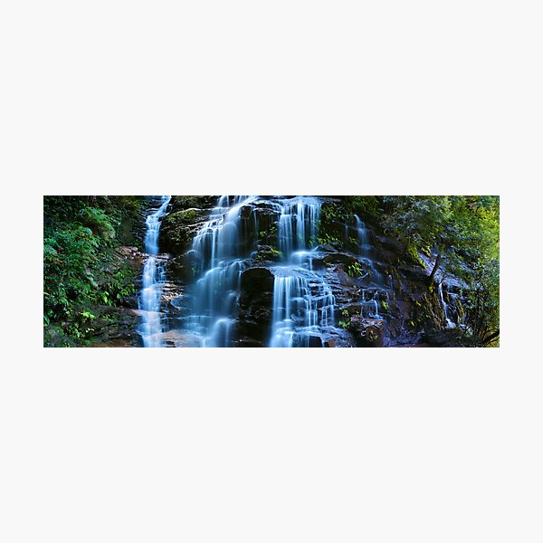 Sylvia Falls, Blue Mountains, New South Wales, Australia Photographic Print