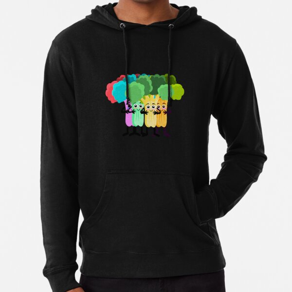 The healthy broccoli course Lightweight Hoodie