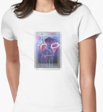 Birthday Wishes Greeting Card with Lilac Calla Lilies T-Shirt