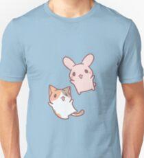 kitten and bunny  T-Shirt