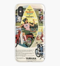 Yamaha ad in old magazine iPhone Case
