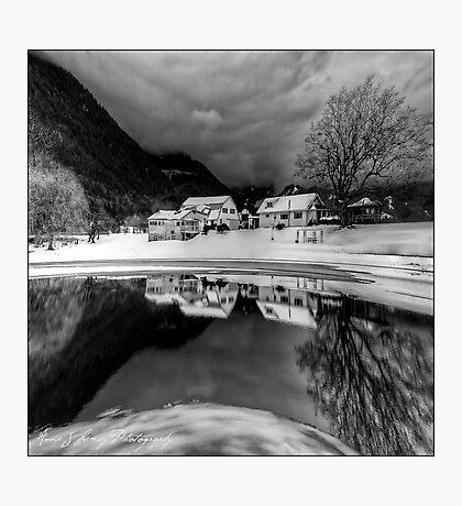 Winter's Edge Photographic Print