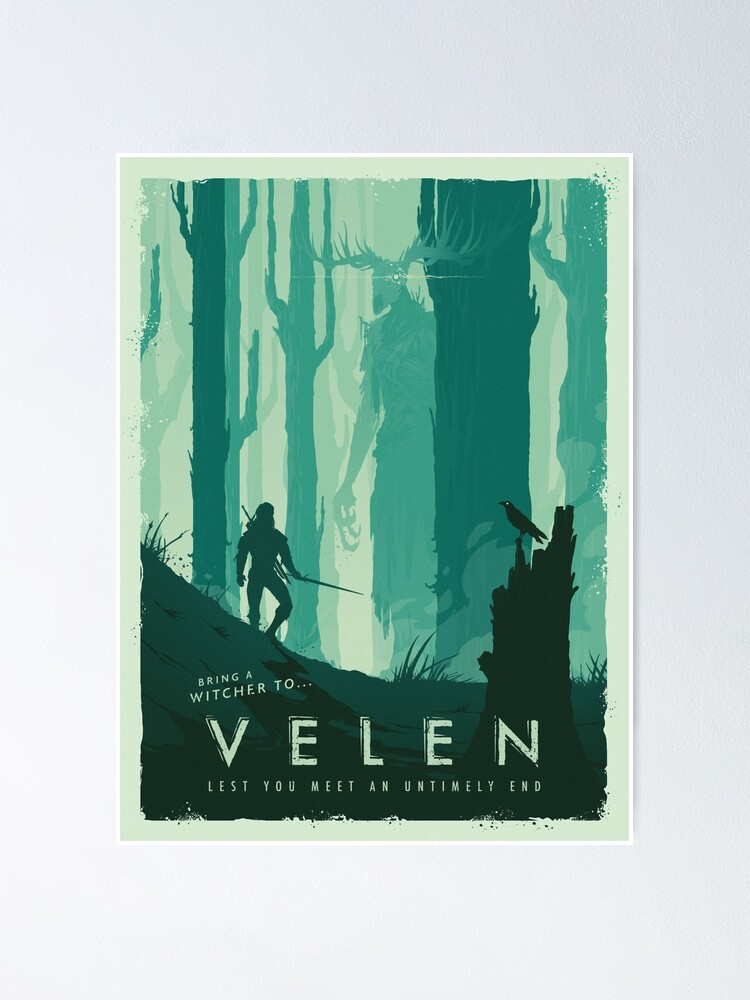Alternate view of Visit The Continent I Poster