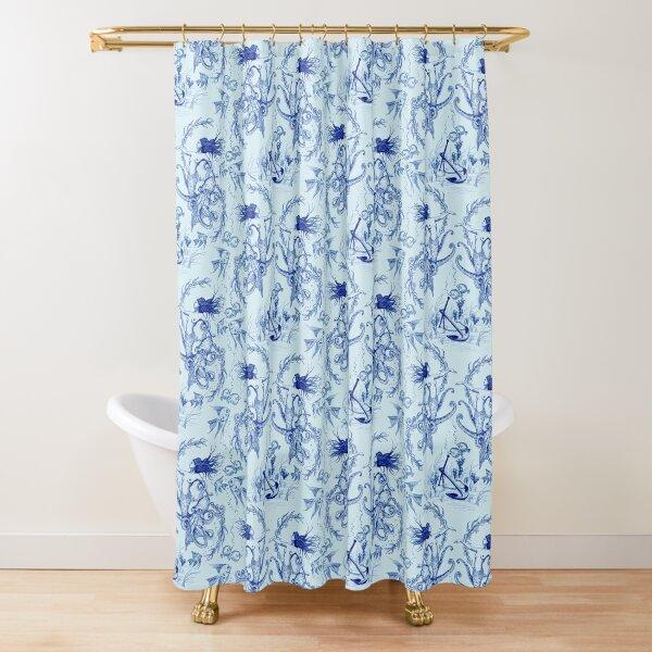 Mermaid toile Shower Curtain