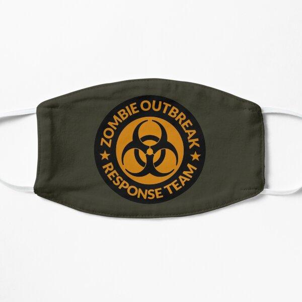Zombie Response Team (Biohazard / Circle / Orange) Flat Mask