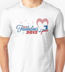 Vote Faabulous Party 2012! T-Shirt
