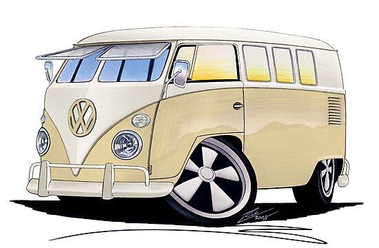 VW Splitty (11 Window) Camper by yeomanscarart