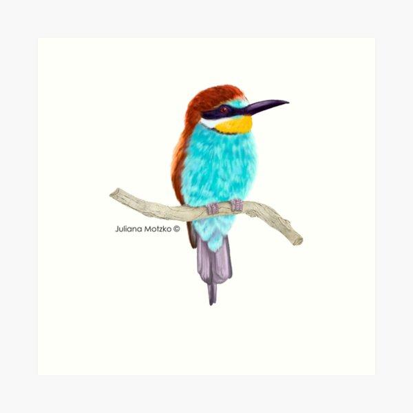 Bee Eater Bird Art Print