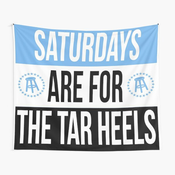 saturdays are for the tar heels  Tapestry