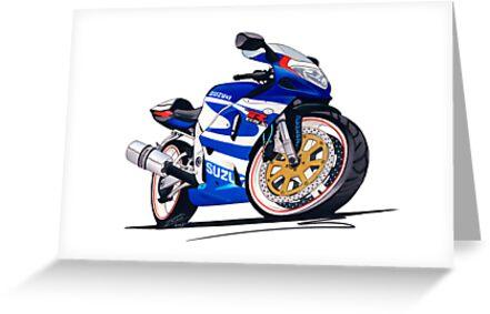 Suzuki GSX-R750 by Richard Yeomans