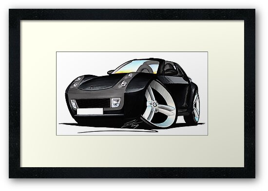 Smart Roadster (BLK) Black by yeomanscarart