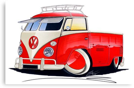 VW Splitty Pick-Up (Custom A) by Richard Yeomans