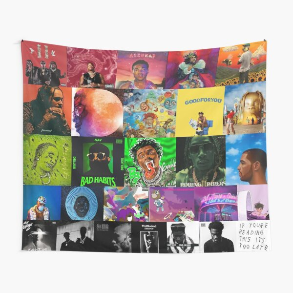 album cover collage Tapestry