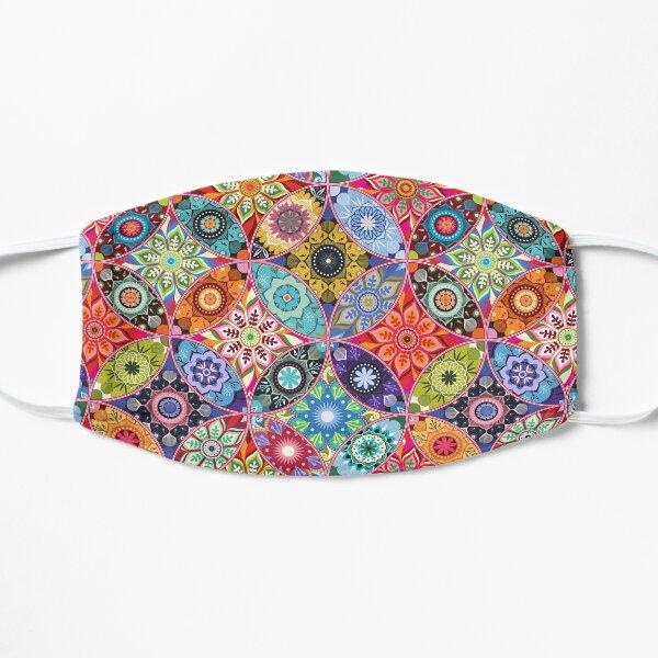 Moroccan bazaar Flat Mask