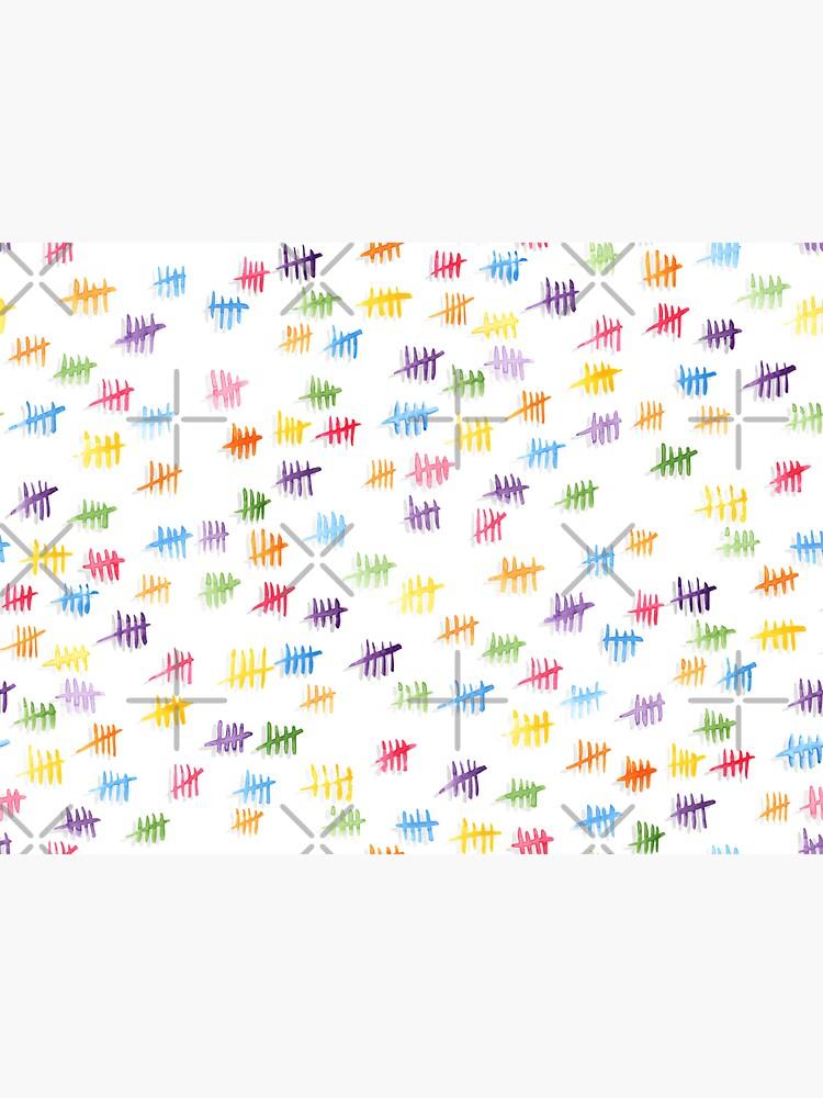 Anticipiating countdown - rainbow colors by nobelbunt