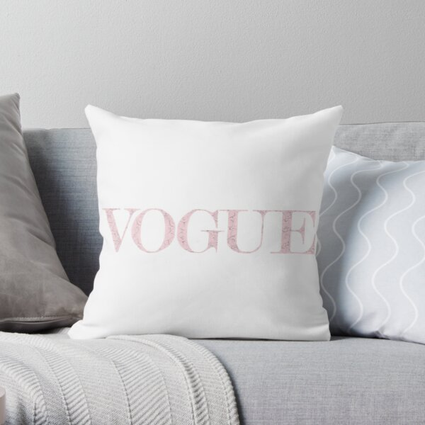 marble vogue Throw Pillow