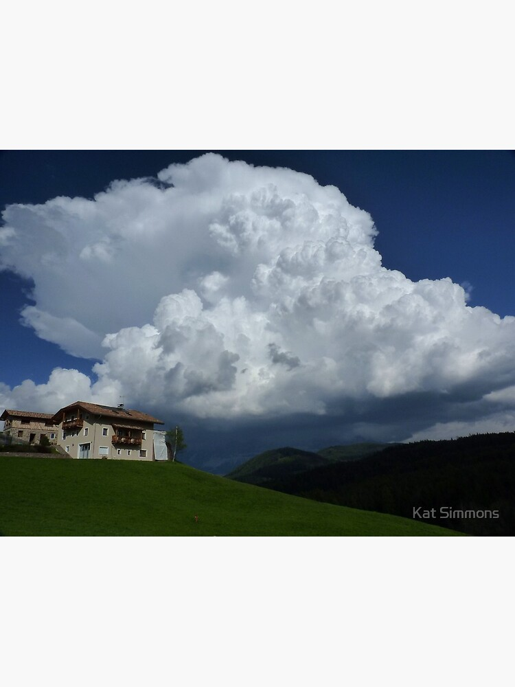 Below the Thunder Cloud - Tyrol, Italy de venturousfeli